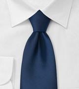 Solid Dark Royal Blue Neck Tie