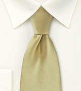 Formal Tie in Gold Tan
