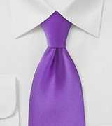 Purple Summer Necktie