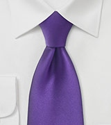 Tie in Regency Purple