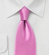 Narrow Width Tie in Pink