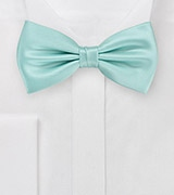 Glacier Blue Men's Bow Tie