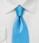 Vibrant Malibu Tie in Solid Color