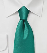 Modern Jade Colored Necktie