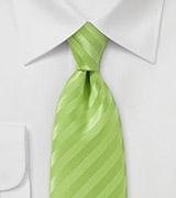 Lime Green Narrow Neck Tie