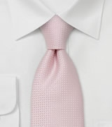 Light Pastel-Pink Necktie