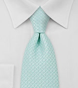 Light Turquoise Mens Necktie