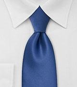 Cobalt Blue Mens Tie