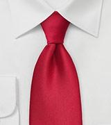 Bright Cherry Colored Power Tie