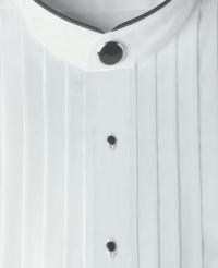 mandarin-collar