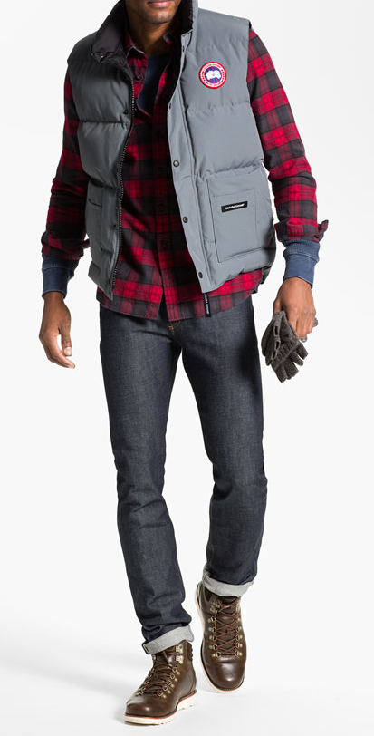 Flannel sweater vest her sweater for Plaid shirt under sweater