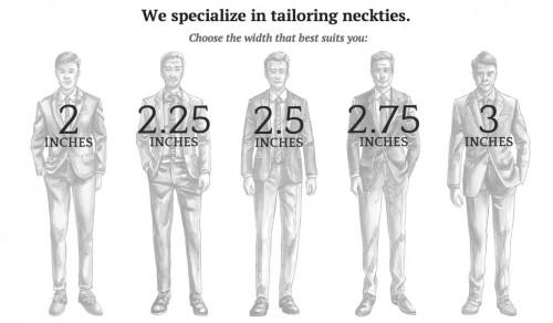 necktie-custom-widths