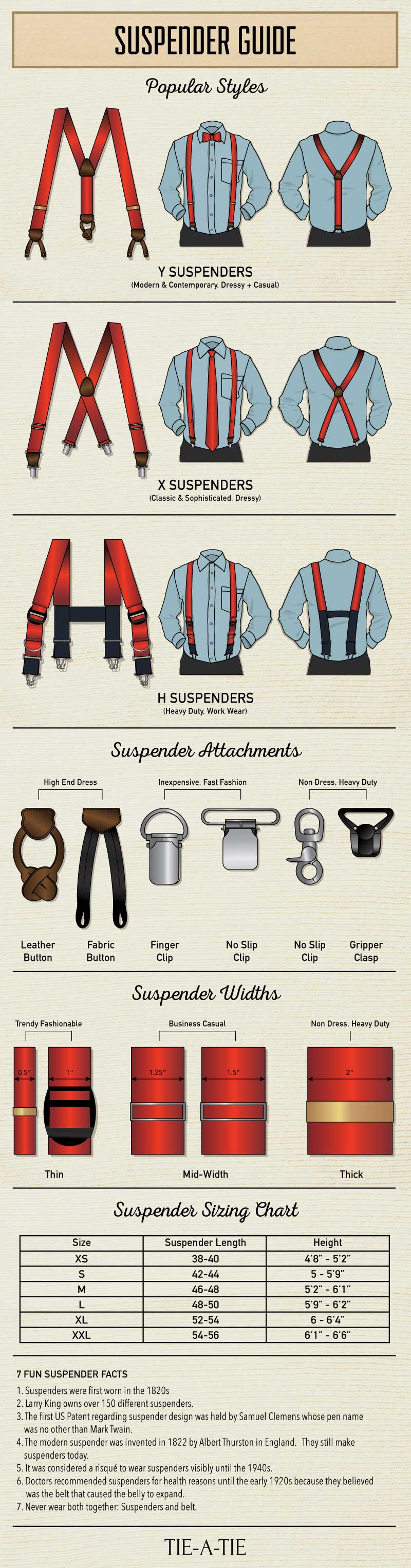 Guide On How To Wear Suspenders