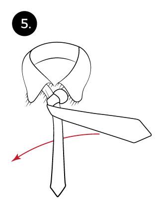 Christensen Necktie Knot