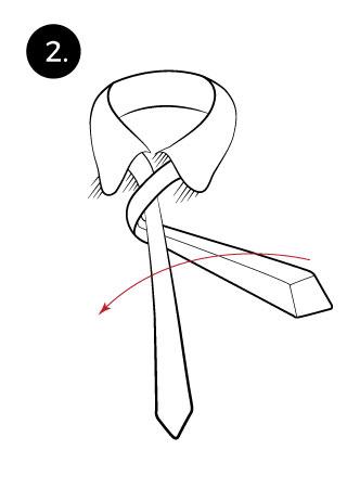 prince albert tie knot
