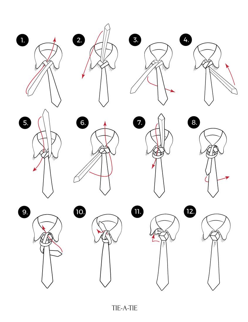 trinity tie knot how to