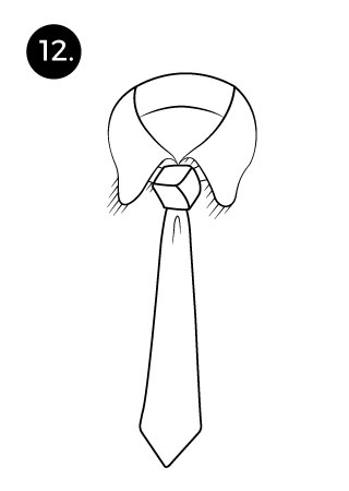 last step for trinity knot