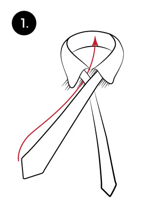 Windsor knot tie a tie learn to tie a windsor knot ccuart Image collections