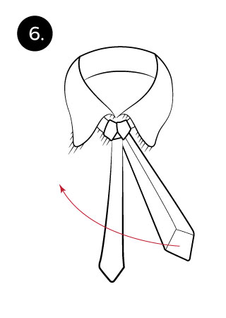 Windsor knot tie a tie learn how to tie a full windsor ccuart Image collections