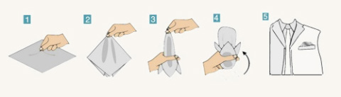 How to Fold a Pocket Squares