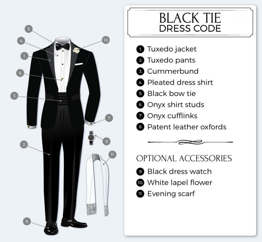 what-is-black-tie-attire