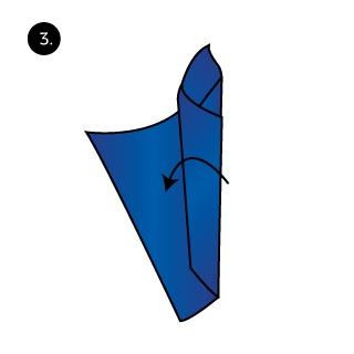 Catta Lily Folding Technique