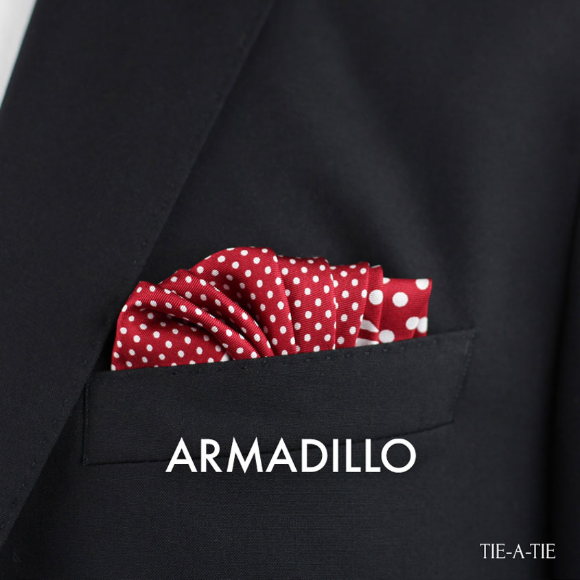 Armadillo Pocket Square Fold how to