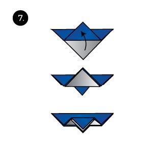 bird of paradise hanky fold guide