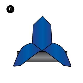 bishops hat mens pocket square