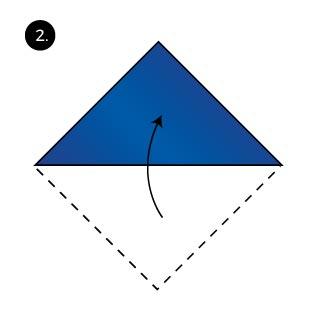 bishops hat fold pocket square