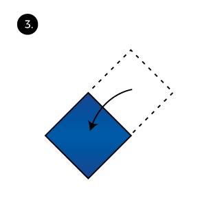 Diamond Hanky Fold