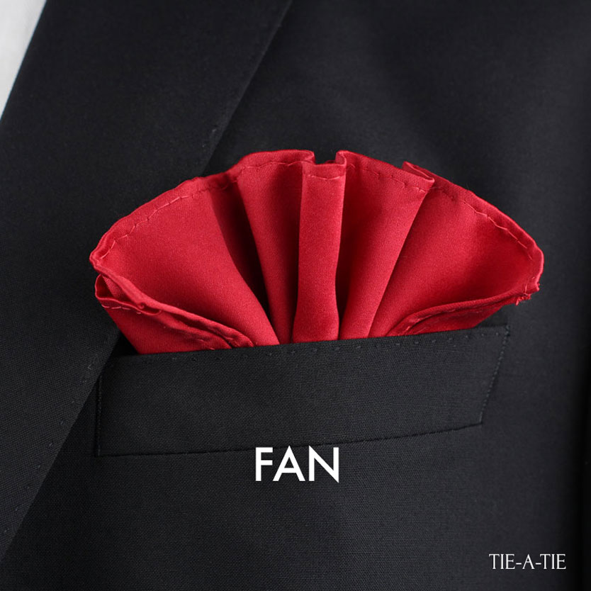 Fan Pocket Square Fold