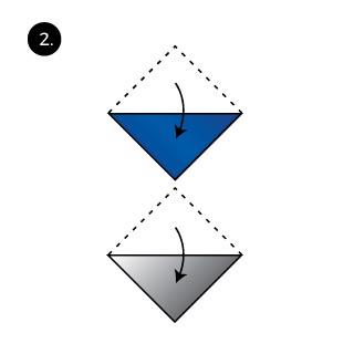 ice cream fold pocket square