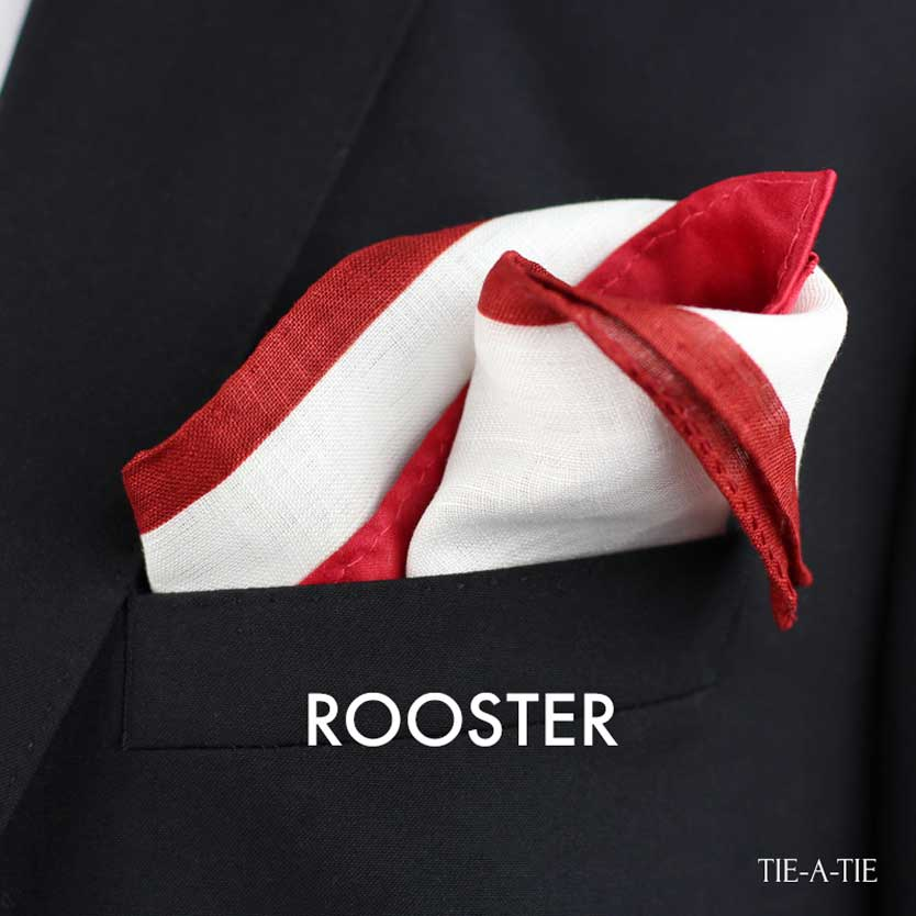 rooster pocket square fold tie a tie net