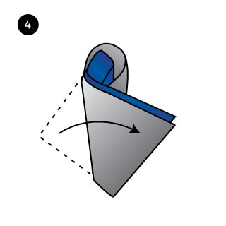 How to Rooster Pocket Square