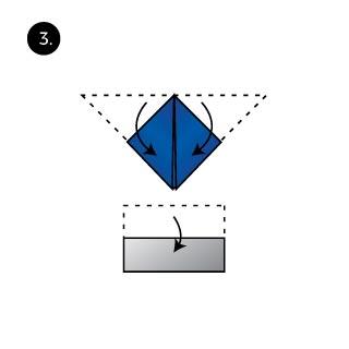 Mt Fuji Fold Pocket Square