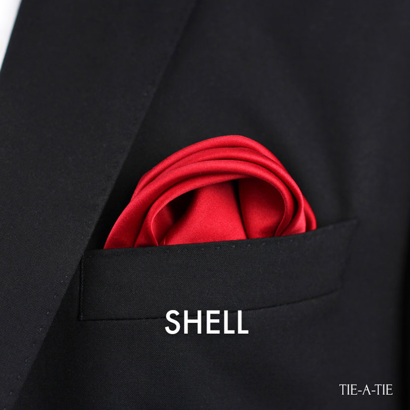 The Shell Fold for Pocket Squares