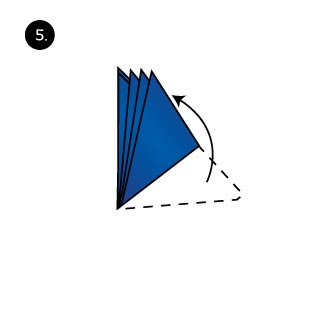 How to fold a pocket square with the shell fold