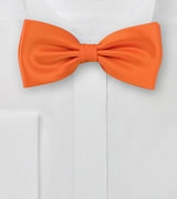 Bright Orange Bow-Tie