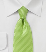 Lime Green Narrow Neck Tie