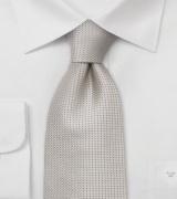 Champagne Silk Necktie