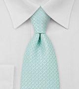 Light Turquoise Mens Necktie