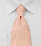 Solid Light Orange Neck Tie