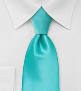 Bright Mint Green Necktie