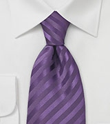 Mens Necktie in Lapis Purple