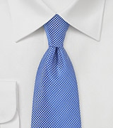 Textured Tie in Horizon Blue
