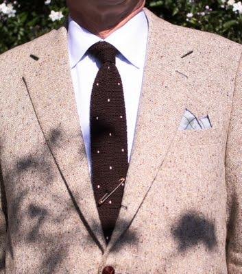 polka-dot-knit-tie