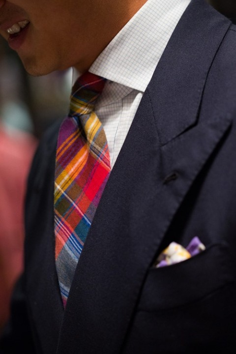 Mens Fashion Guide To Check Patterns Tie A Tie Net