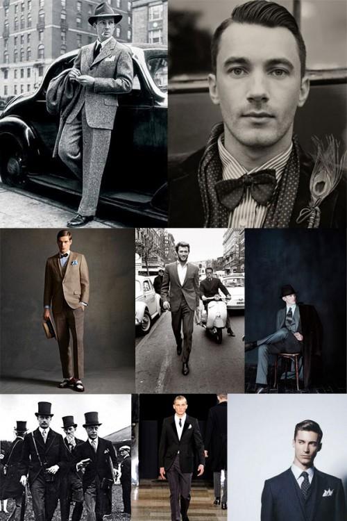 vintage-black-tie