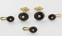 onyx-cufflinks-studs